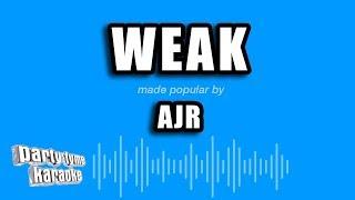 AJR Weak Karaoke Version