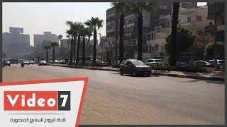 النشرة المرورية ..سيولة فى شوارع وميادين القاهرة والجيزة