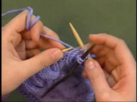 Knitting A Basic Cable Kdtv 301 With Eunny Jang Youtube