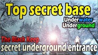 Conan Exiles - Top Secret Base, Underground Entrance, Underwater