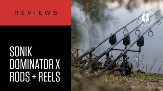 CARPologyTV - SONIK DominatorX Rods & Reels Review with Frank Warwick