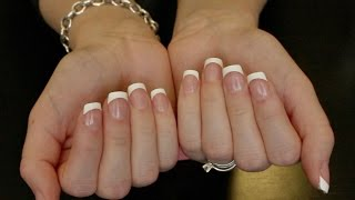 DIY 5 Min French Manicure * Kiss Press On Nails*