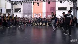 JAPAN (BBOY ISSEI KAKU SHIGEKIX WING ZERO...) VS COFFEE COLA | HUSTLE & FREEZE 2014