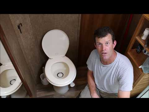 How to Use an RV Toilet Without Making a Mess