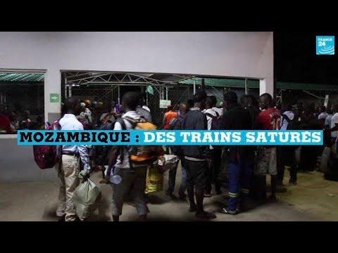 Des trains saturés au Mozambique