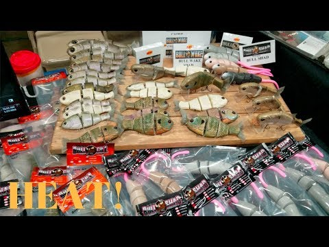 East Tennessee Fishing Expo: New Kayaks and Swimbaits!!