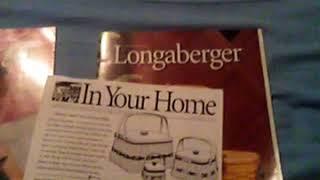 Historic longaberger book Dated 2000