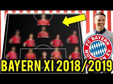FC Bayern München Possible Line Up XI 2018/2019 Ft Lewandowski, Goretzka, Malcom
