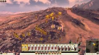 Total War ROME II -  \ 3 vs 3 \ Рим. Сетевой бой.