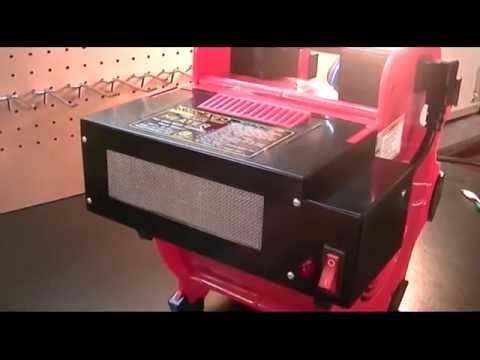 Harbor freight chicago electric power tools heater for Harbor freight blower motor