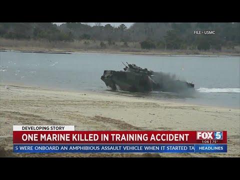 美军两栖突击车发生事故 酿1死8失踪(图/视频)