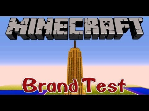 NCC Hotel (Empire State Building) - Feuertest - Minecraft [HD]