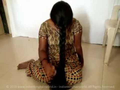 Ilhw Rapunzel Reshma Nit Picking Front Braid On Her Face With Knee