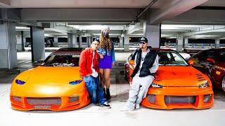 車好き夫婦!スポコンに魅せられた夫とFカップ美人妻がDIYで仕上げたFD3S。