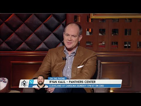 Panthers Center Ryan Kalil Calls The RES - 12/15/14