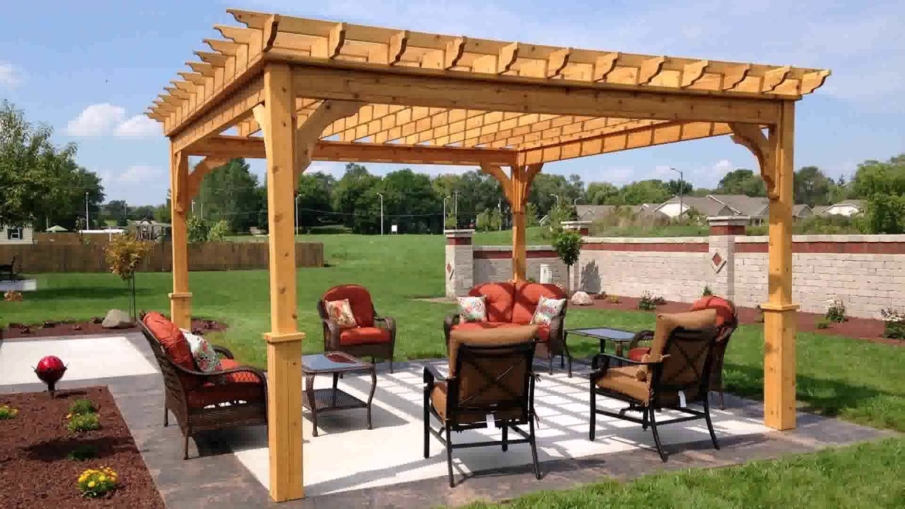 Freestanding Covered Patio Plans Do It Yourself