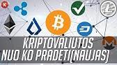 valiutos investavimo kripto