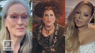 Meryl Streep, Mariah Carey Join 'Hocus Pocus' Reunion