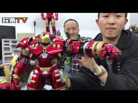 玩具TV S01 EP08 P1:「爆玩具」直播Live King Arts 1/9 Ironman HulkBuste