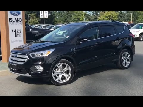 2019 Ford Escape Titanium AWD Review| Island Ford