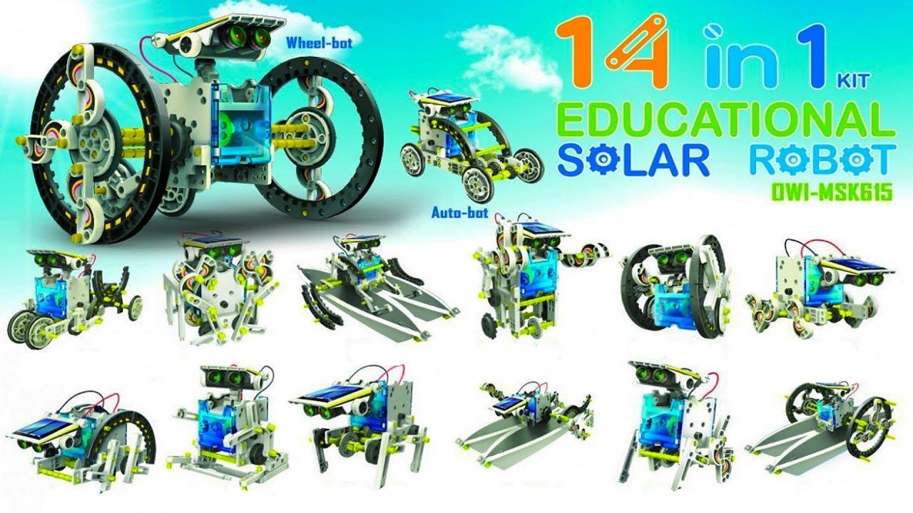 14 in 1 Educational Solar Robot Diy Kit - Супер ...