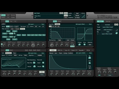 What's new in SynthMaster v2.9 Beta?