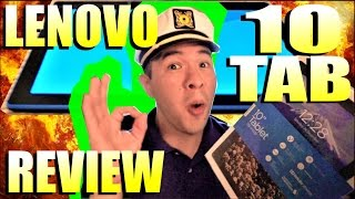 Lenovo TAB 10 Tablet Review | Unboxing + Overview + Performance Test | Model TB-X103F 10.1""