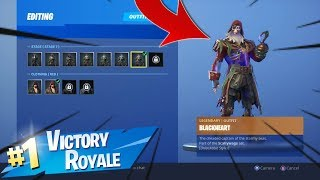 *Stage 7* BLACKHEART Skin Gameplay In Fortnite..