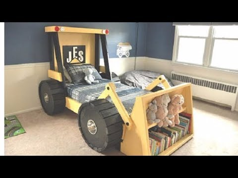 Great ideas for bedroom Construction Truck Bed Plans for kid