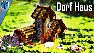 Minecraft Dorf Haus Bauen 🏡 Dorf Haus In Minecraft Bauen Deutsch (eng. Subtitle)