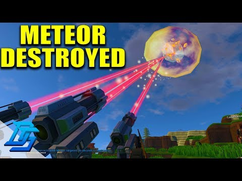 DESTROYING THE METEOR, THEN METEOR IMPACTS PLANET DIES - ECO : Global Survival