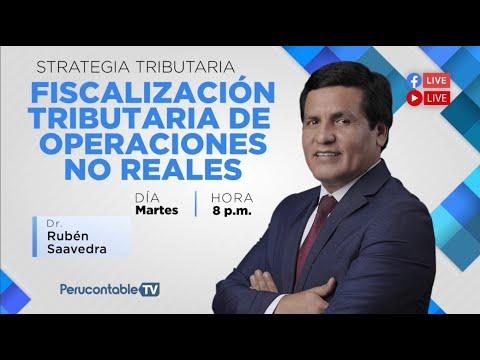 FISCALIZACIÓN TRIBUTARIA DE OPERACIONES NO REALES