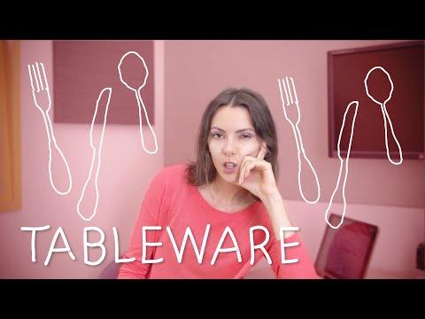 Weekly Russian Words with Katya - Tableware