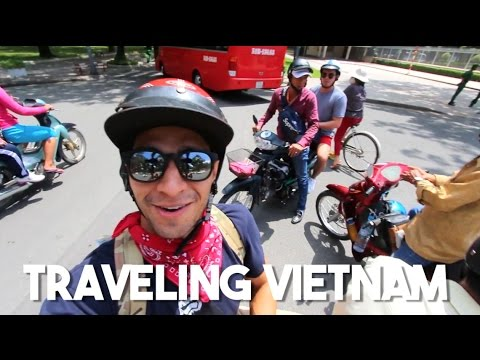 How To Travel Vietnam (Traveling Ho Chi Minh City on a Motor