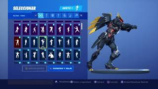 Dark Sentinel Skin Dancing 120 Fortnite Gestures