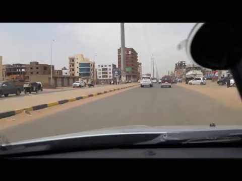 Driving in Khartoum with R.J. Dio