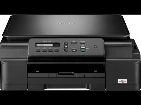 Brother printer Dcp J100 Head Cleaning