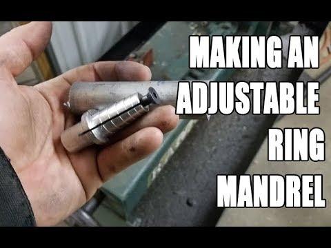 Making an adjustable ring Mandrel / Arbor