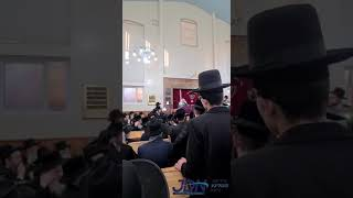 Chernowitz Rebbe Crowns His Brother As Manchester Rov - Nissan 5781