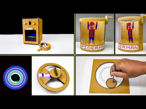 TOP 4 Amazing Diy Cardboard Toys For Kids