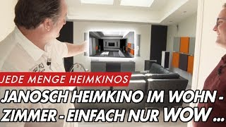 Janosch Wohnzimmer-Heimkino - Perfekt geplant, perfekt gebaut | GROBI.TV