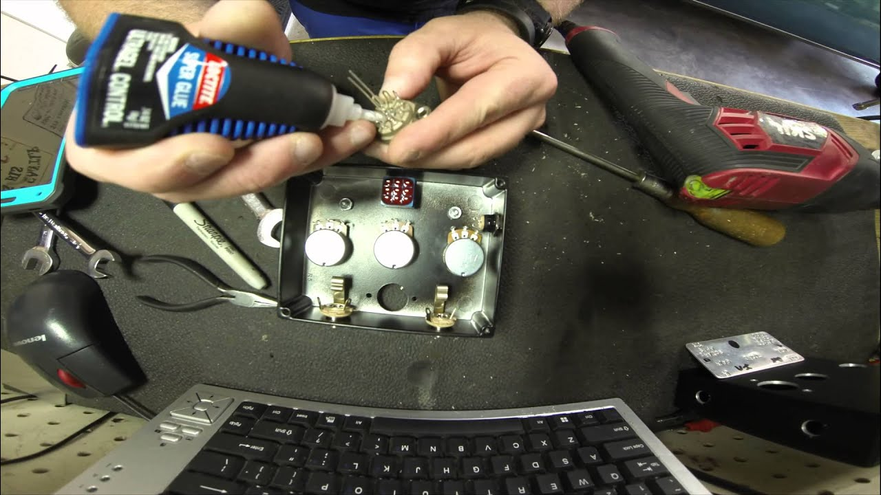 square amps bayou drive tube overdrive pedal build timelapse youtube. Black Bedroom Furniture Sets. Home Design Ideas