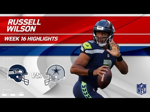 Russell Wilson Highlights   Seahawks vs. Cowboys   NFL Wk 16 Player Highlights