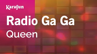 Karaoke Radio Ga Ga - Queen *