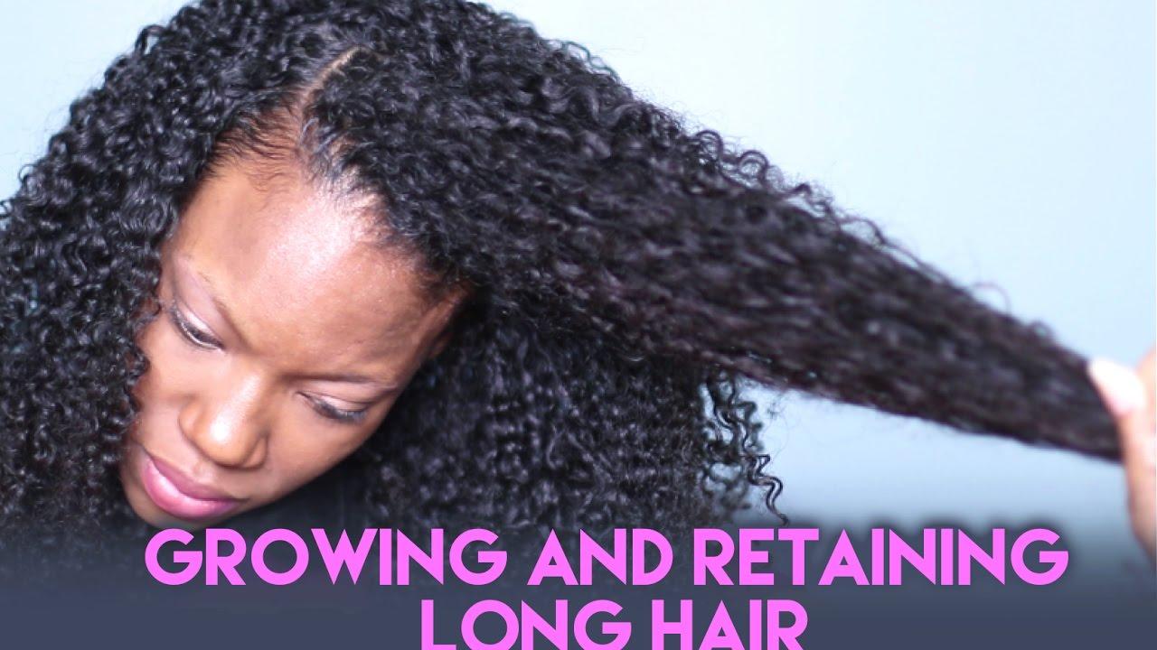 growing long natural hair & keeping