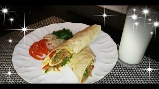 YOU HAVE TO TRY THIS TORTILLA WRAP! IT