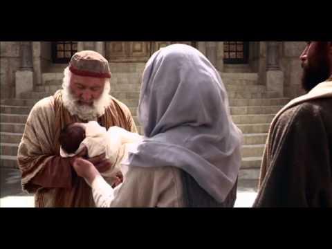 El niño Jesús es presentado en el templo - YouTube