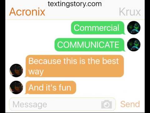 Ninjago Hands of Time:If Acronix and Krux had text messages