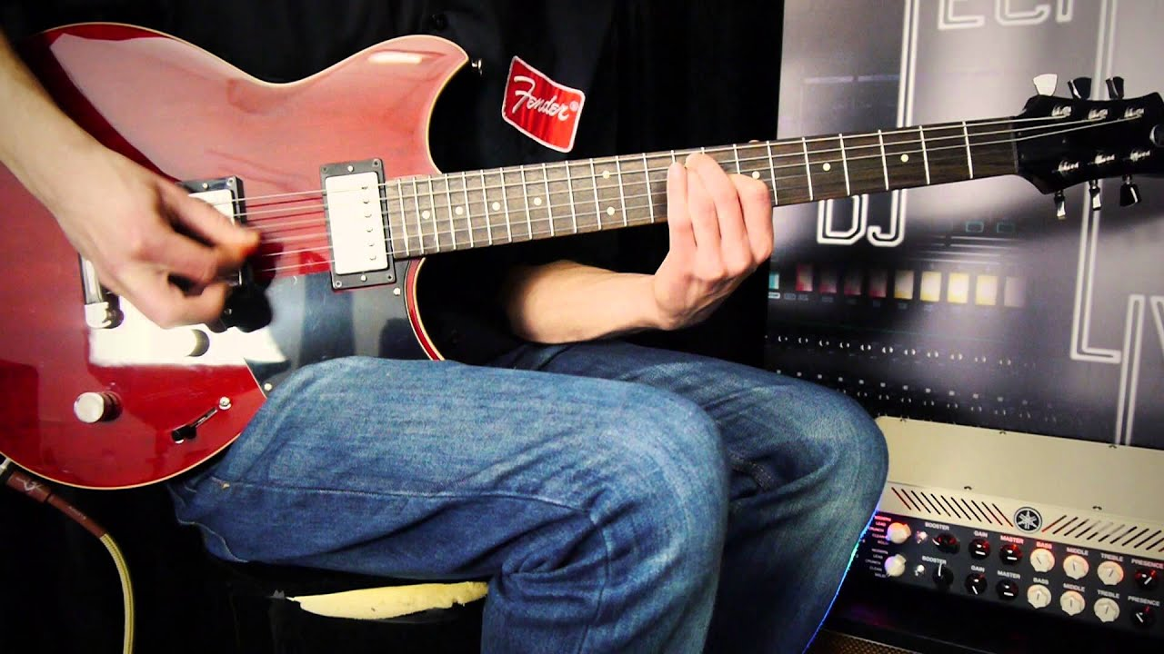 yamaha revstar 420 electric guitar demo youtube. Black Bedroom Furniture Sets. Home Design Ideas