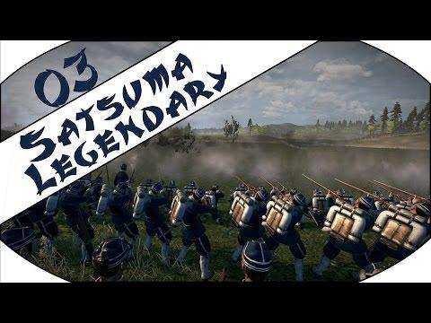 TOUGH BATTLES - Satsuma (Legendary) - Total War: Shogun 2 - Fall of the Samurai - Ep.03!